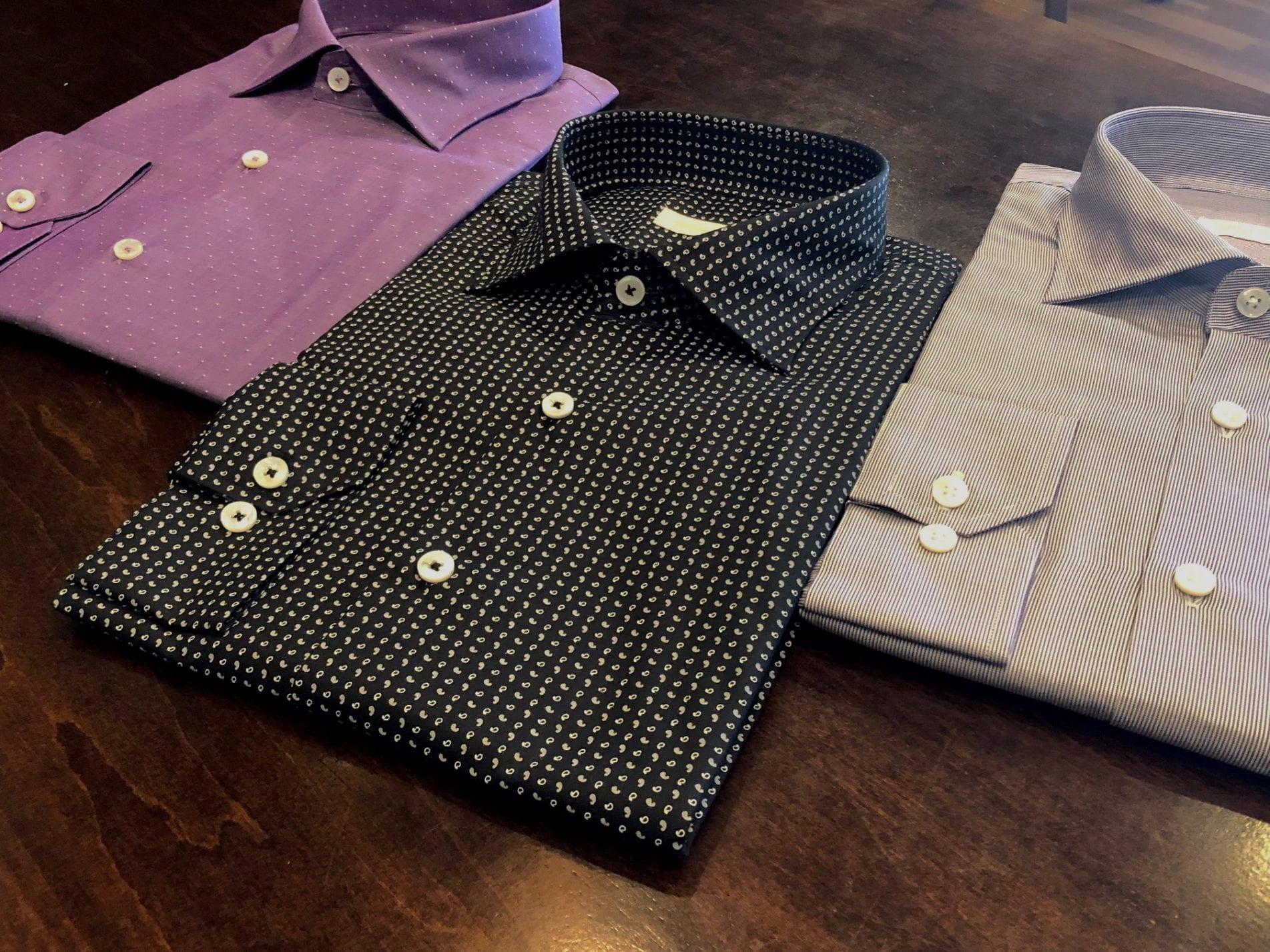 Custom Made Dress Shirts Mens Tailored Shirts Artful Tailoring