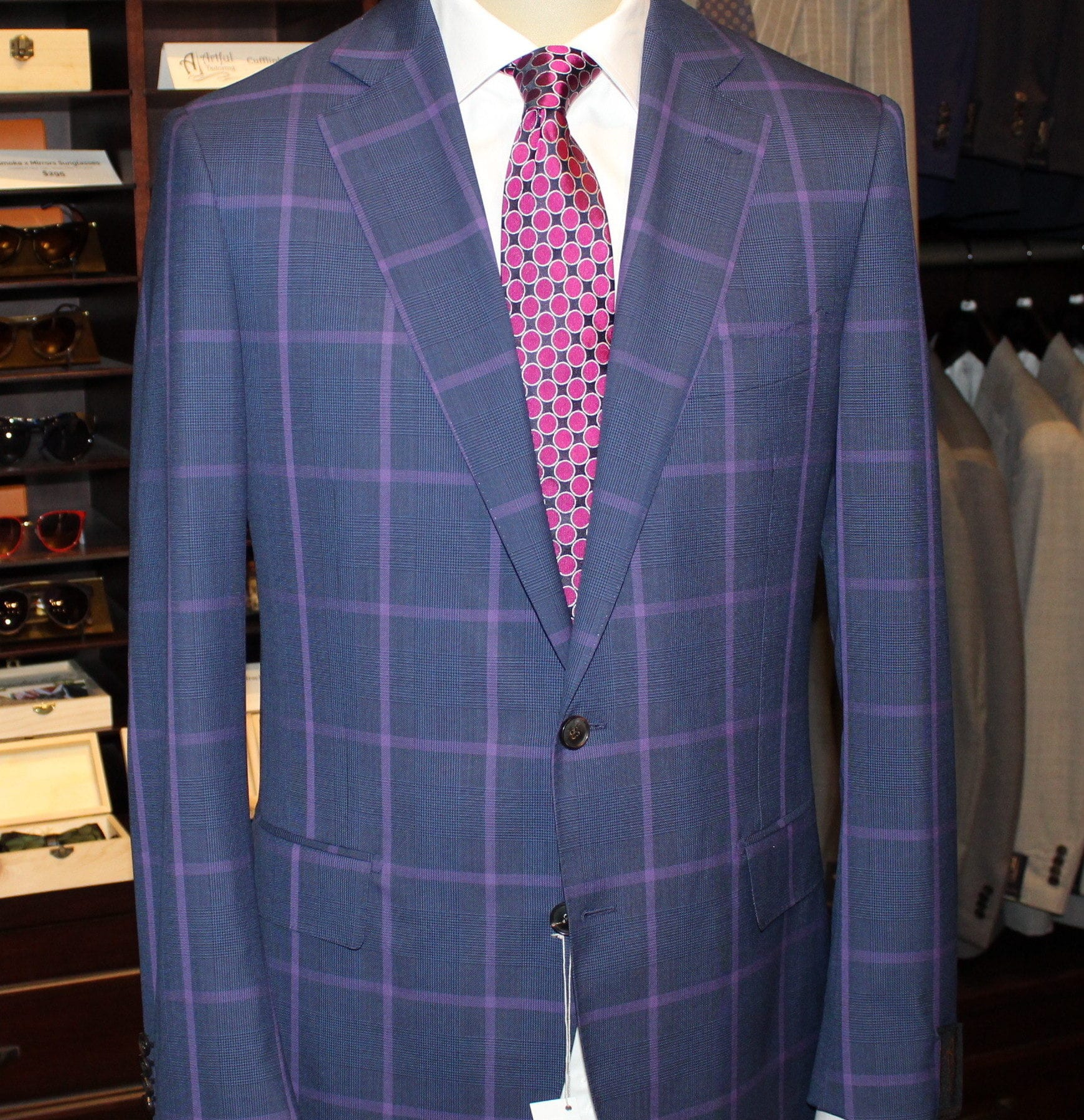 Winning Suit And Tie Combinations Artful Tailoring